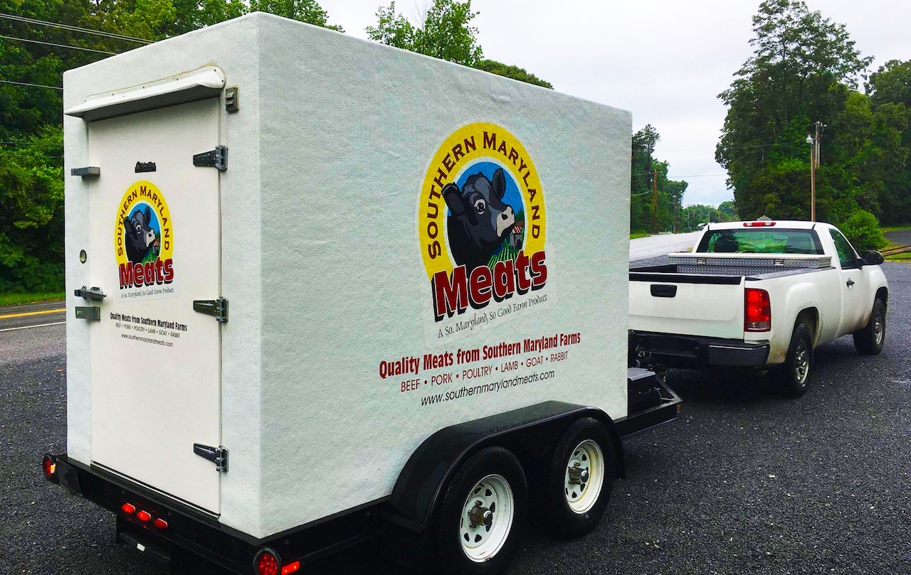 Southern Maryland Meats Freezer Trailer