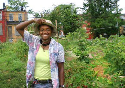 Bringing value to vacant lots in Baltimore City